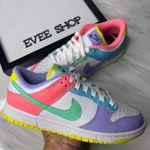 Nike Dunk Low 💗💜💙💚💛